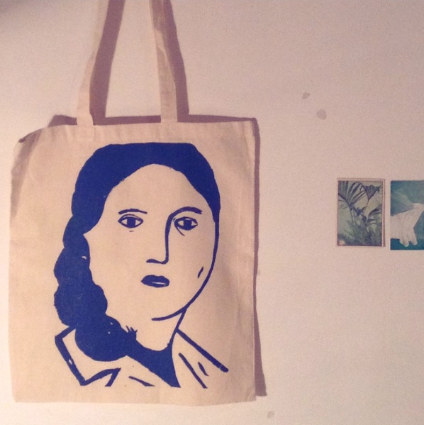 Screen printed tote bag (2015)